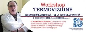 WORKSHOP: Termoviziunea medicala – de la teorie la practica